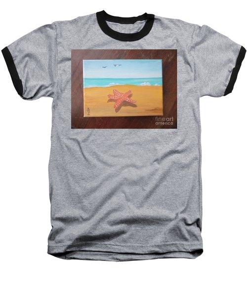 Little Star Fish Baseball T-Shirt