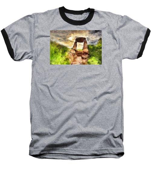Little Stonehenge Baseball T-Shirt