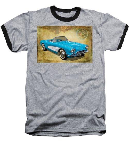 Little Vette Baseball T-Shirt