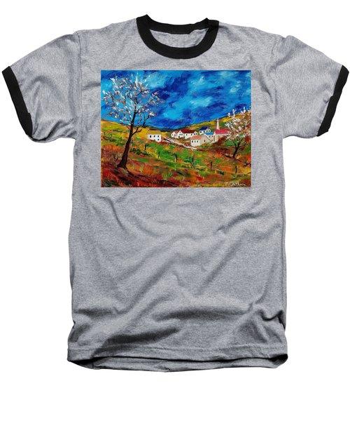 Little Village Baseball T-Shirt by Mike Caitham