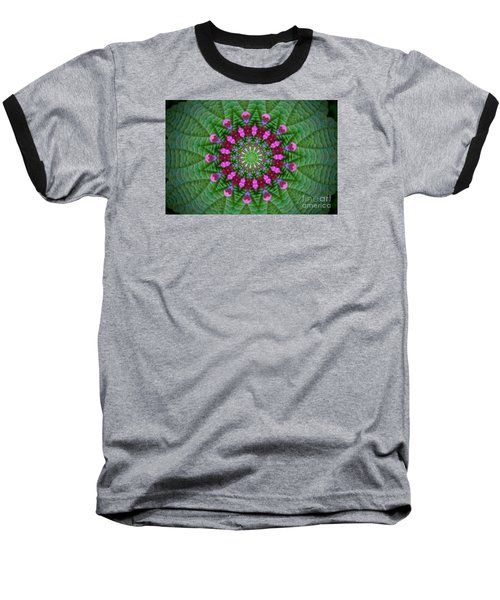 Little Weed Kaliedoscope Baseball T-Shirt