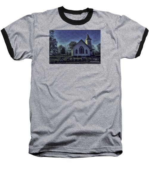 Little White Church Baseball T-Shirt