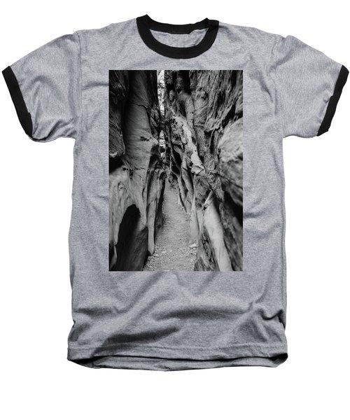 Little Wild Horse Canyon Bw Baseball T-Shirt