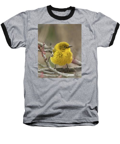 Baseball T-Shirt featuring the photograph Little Yellow by Lara Ellis