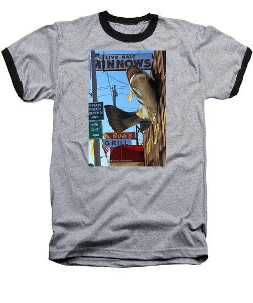 Live Bait Baseball T-Shirt
