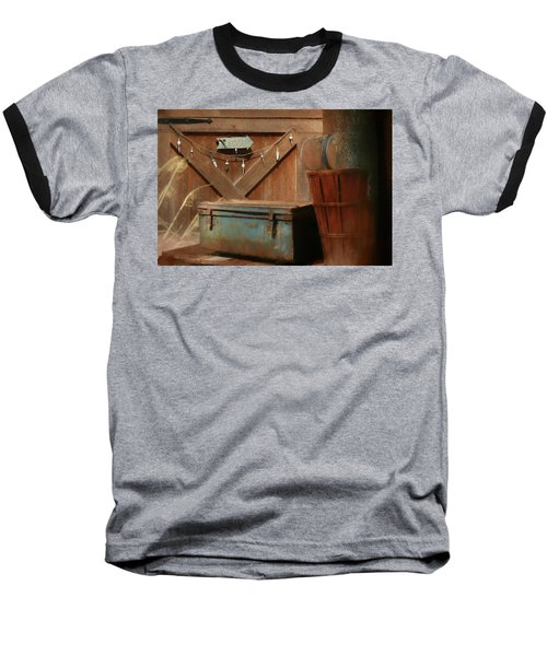 Baseball T-Shirt featuring the photograph Live Bait by Lori Deiter