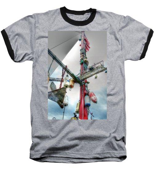 Live Crab Hdr 2164 Baseball T-Shirt