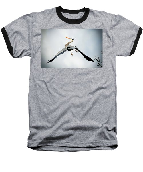 Baseball T-Shirt featuring the photograph Live Free And Fly by Rodney Campbell
