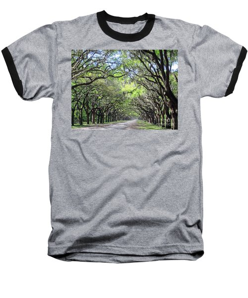Live Oak Canopy Baseball T-Shirt