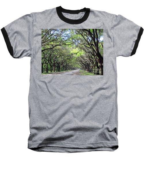 Live Oak Canopy Baseball T-Shirt