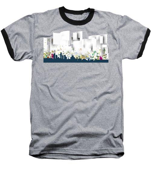 Liverpool Skyline .1 Baseball T-Shirt