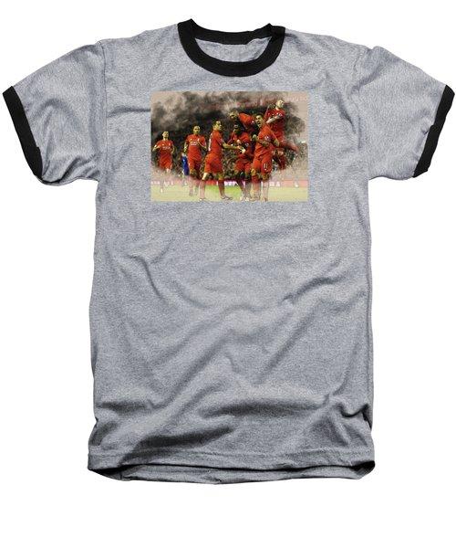 Liverpool V Leicester City Baseball T-Shirt