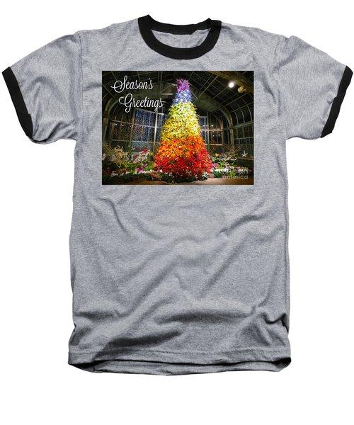 Living Color Season's Greetings Baseball T-Shirt