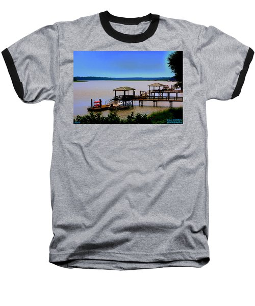 Living In The Lowcountry Baseball T-Shirt