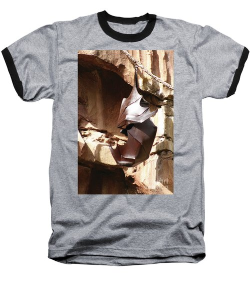 Living Sculpture Baseball T-Shirt