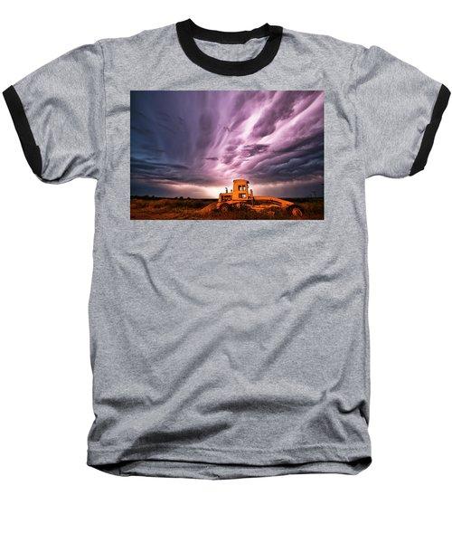 Living Sky In Nebraska Baseball T-Shirt