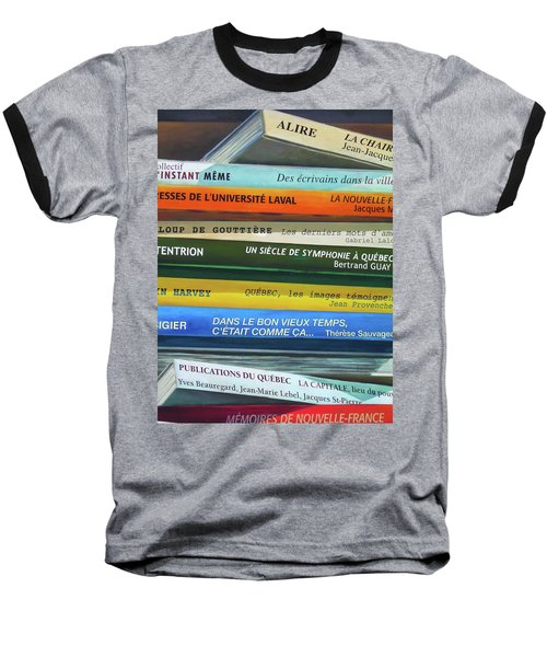 Livres ... Baseball T-Shirt