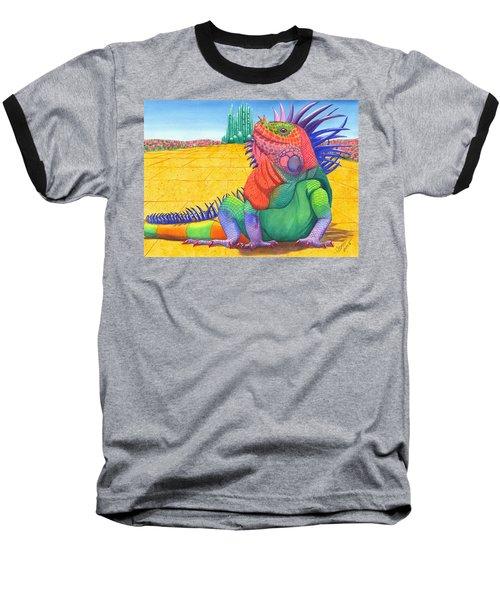 Lizard Of Oz Baseball T-Shirt