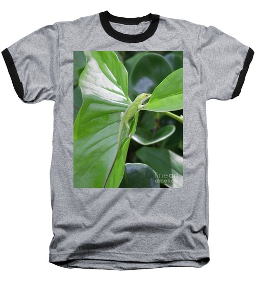 Lizard Waimea Trail Baseball T-Shirt