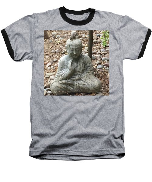 Lizard Zen Baseball T-Shirt
