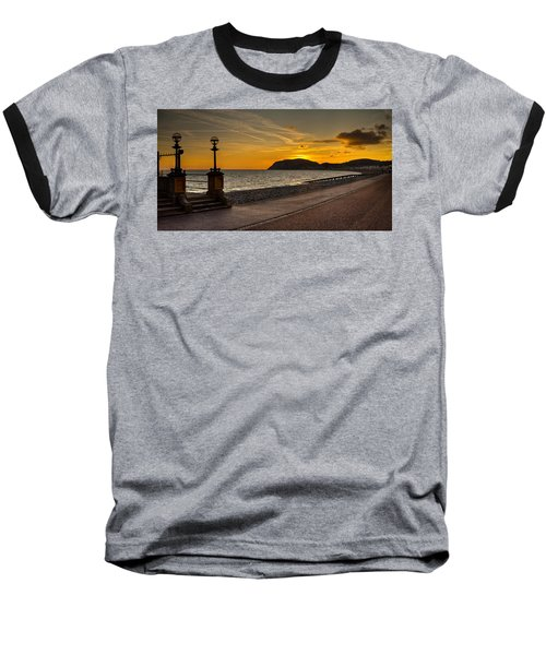 Llandudno Promenade And Little Orme Baseball T-Shirt