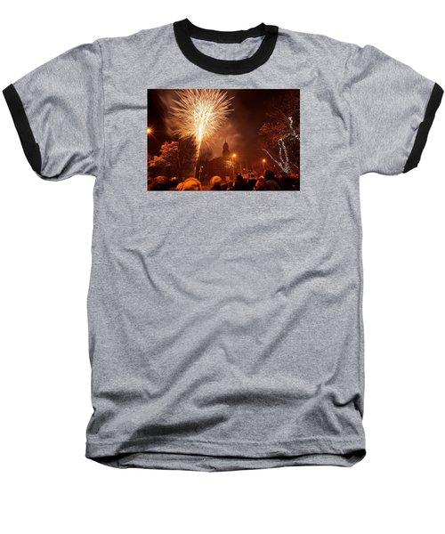 Llanelli Fireworks Baseball T-Shirt