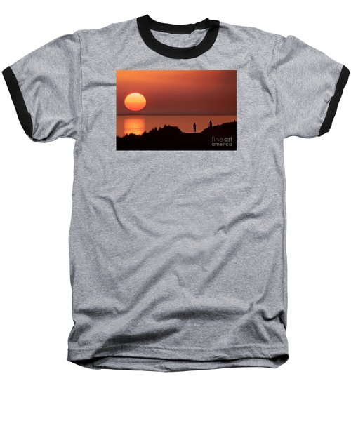 Llangennith Late Summer Days Baseball T-Shirt