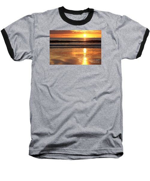 Llangennith Sundown Baseball T-Shirt