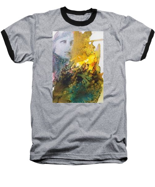 Baseball T-Shirt featuring the painting Llywelyn From Luxembourg by Ed  Heaton