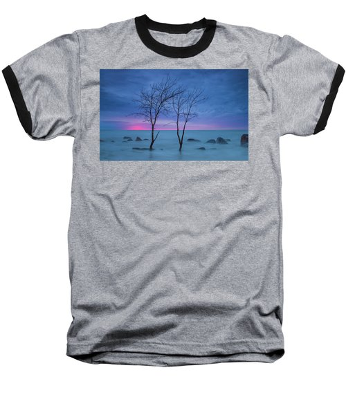 Lm Trees Baseball T-Shirt
