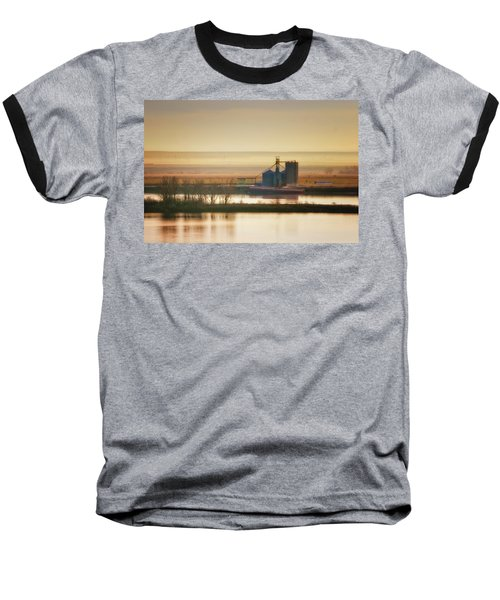 Baseball T-Shirt featuring the photograph Loading Grain by Albert Seger