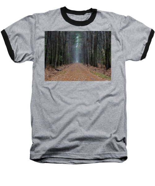 Baseball T-Shirt featuring the photograph Loblolly Lane by Robert Geary