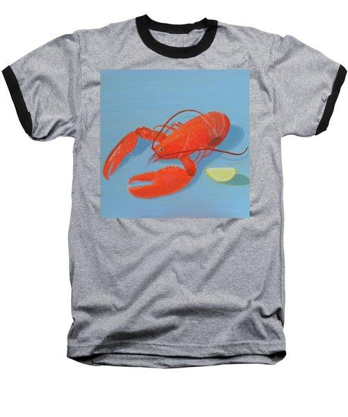 Lobster And Lemon Baseball T-Shirt