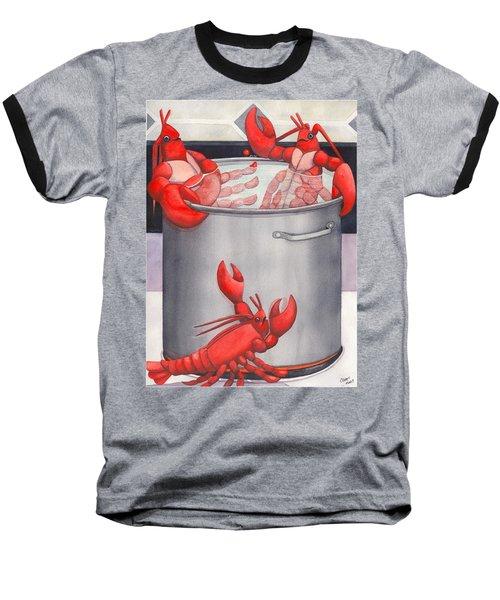 Lobster Spa Baseball T-Shirt