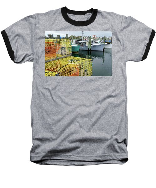 Lobster Traps In Galilee Baseball T-Shirt