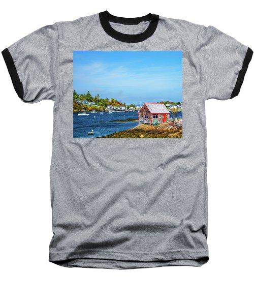Lobstermen's Shack Baseball T-Shirt