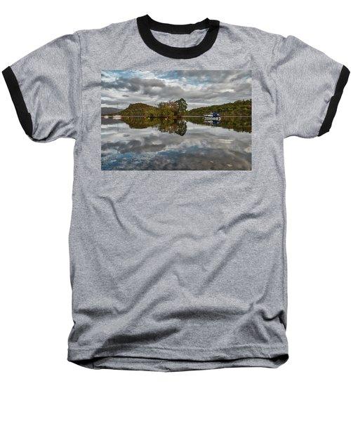 Loch Lomond At Aldochlay Baseball T-Shirt by Jeremy Lavender Photography