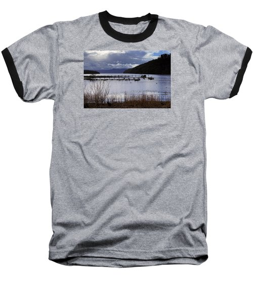 Baseball T-Shirt featuring the photograph Loch Lomond by Jeremy Lavender Photography