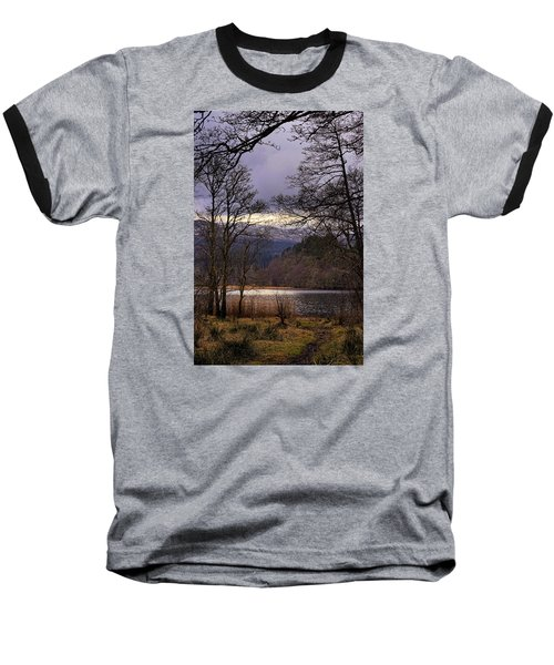 Baseball T-Shirt featuring the photograph Loch Venachar by Jeremy Lavender Photography