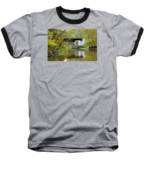 Lock 29 Baseball T-Shirt by Kristin Elmquist