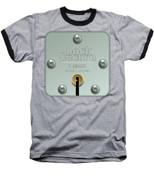 Lock Secure Baseball T-Shirt