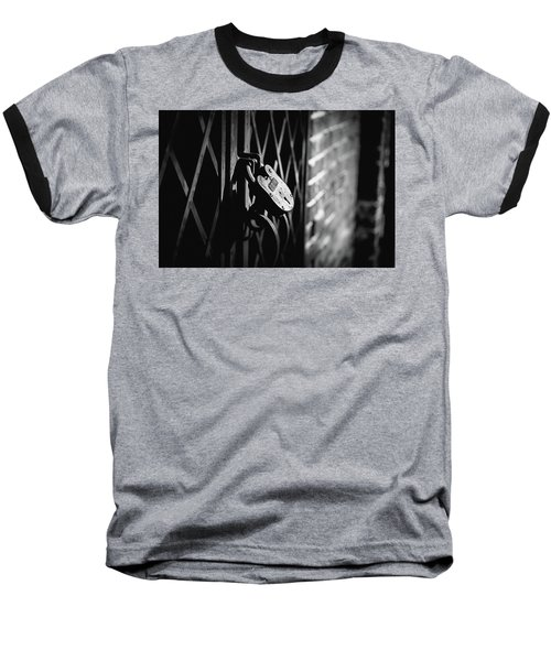 Locked Away Baseball T-Shirt