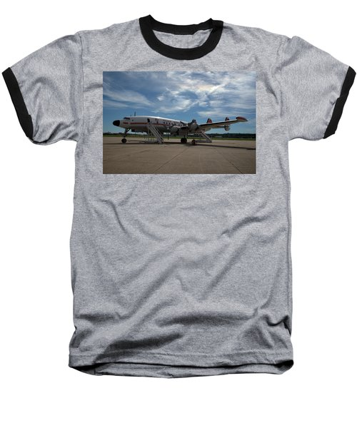 Lockheed Constellation Super G Baseball T-Shirt