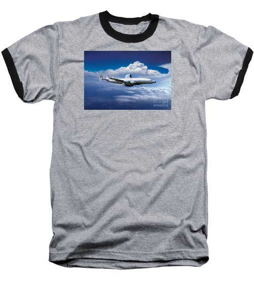 Willie Victor, Lockheed Ec-121k Warning Star In Flight Baseball T-Shirt