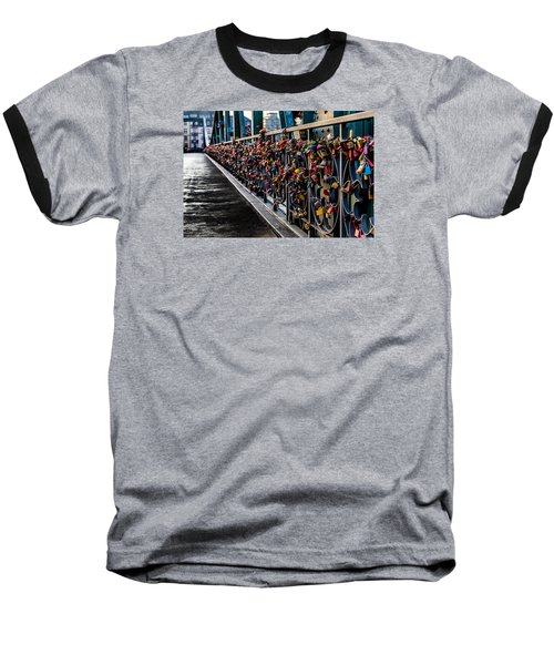 Locks Of Lock Bridge Baseball T-Shirt