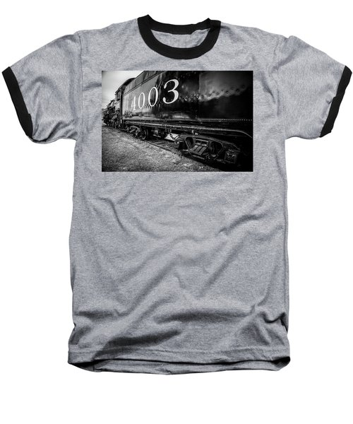 Locomotive Engine Baseball T-Shirt