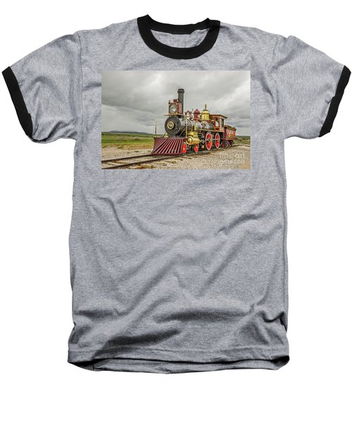 Locomotive No. 119 Baseball T-Shirt by Sue Smith