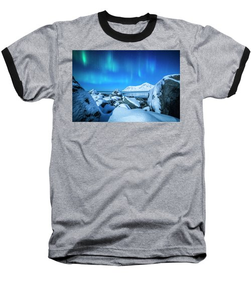 Lofoten Aurora Baseball T-Shirt