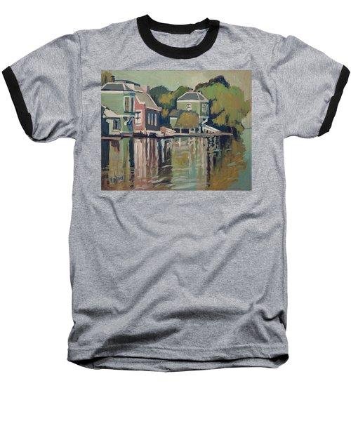 Lofts Along The River Zaan In Zaandam Baseball T-Shirt by Nop Briex