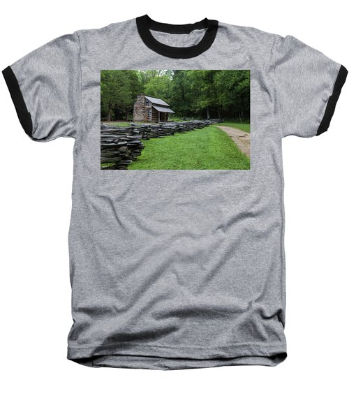 Log Cabin Baseball T-Shirt